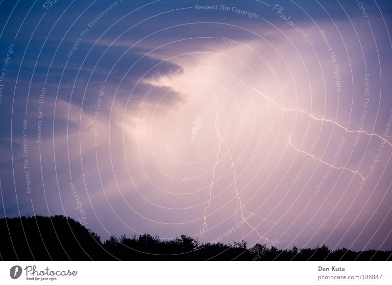 Nature Blue Summer Fear Might Climate Violet Anger Gale Exceptional Lightning Pain Thunder and lightning Storm Elements Respect