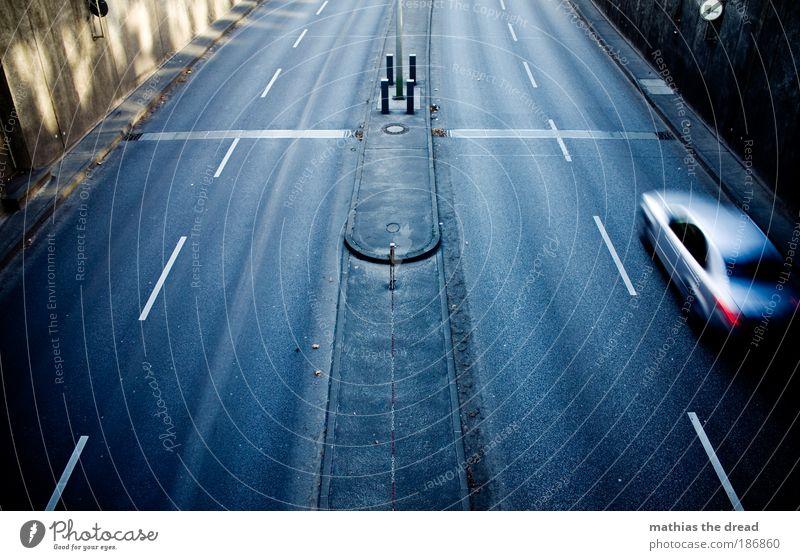 Loneliness Street Cold Dark Gray Car Transport Speed Bridge Gloomy Asphalt Tracks Highway Traffic infrastructure Tunnel Vehicle
