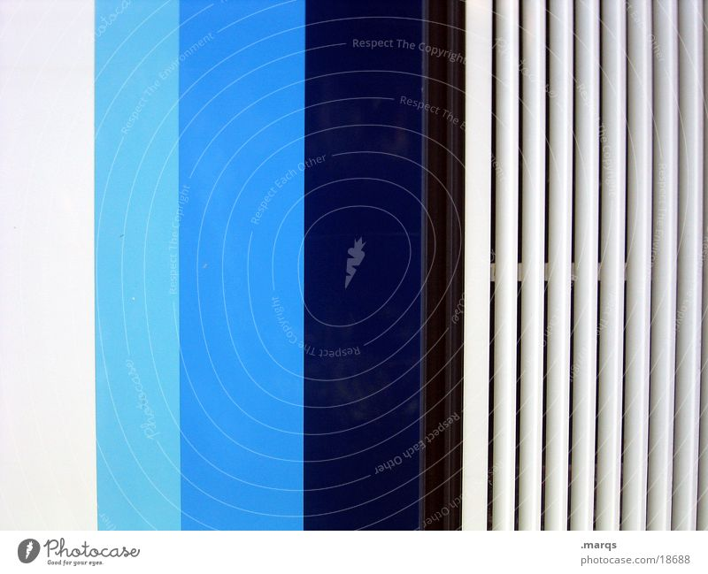 White Blue Line Stripe Obscure Turquoise Striped Photographic technology Color gradient Light blue Gradation