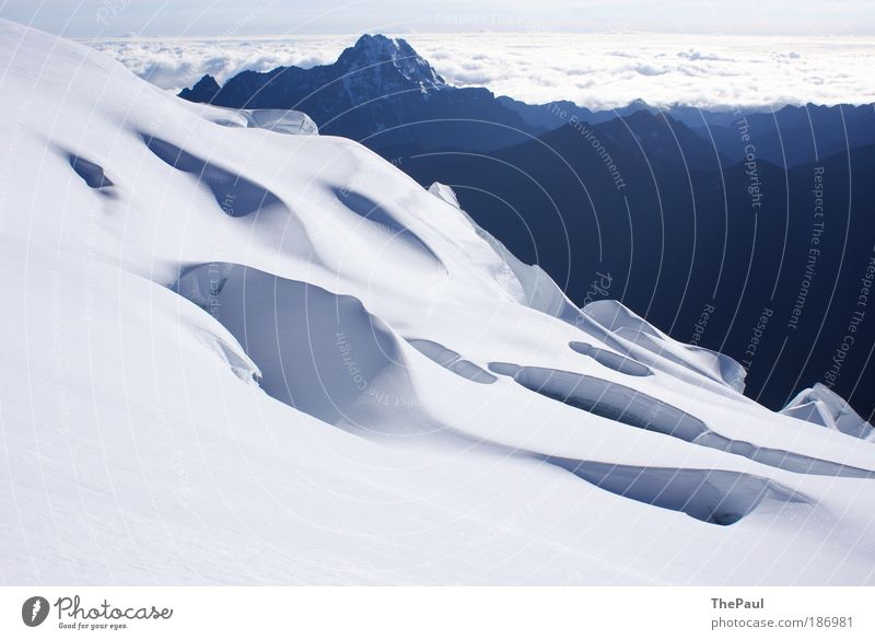 Nature White Blue Snow Mountain Landscape Fresh Beautiful weather Snowscape Andes