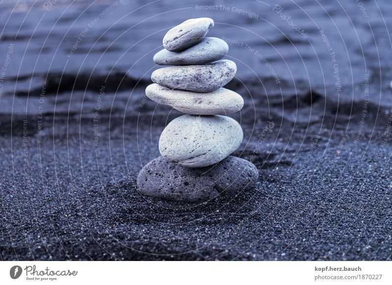 confidence man Beach Stone Old Esthetic Blue Gray Willpower Attentive Patient Hope Belief Effort Contentment Eternity Serene Accuracy Creativity Nature Growth