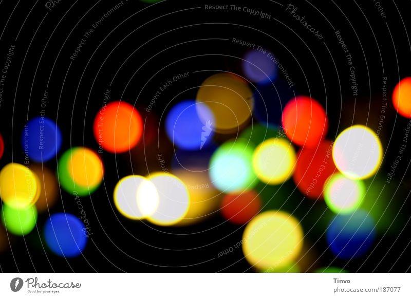 Colour Feasts & Celebrations Illuminate Happiness Circle Blur Round Point Night Fairs & Carnivals Multicoloured Light Festive Circular Confetti Point of light