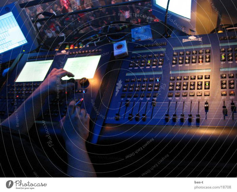 Full party control Control device Disco Man Technology Event lighting Light (Natural Phenomenon) LJ