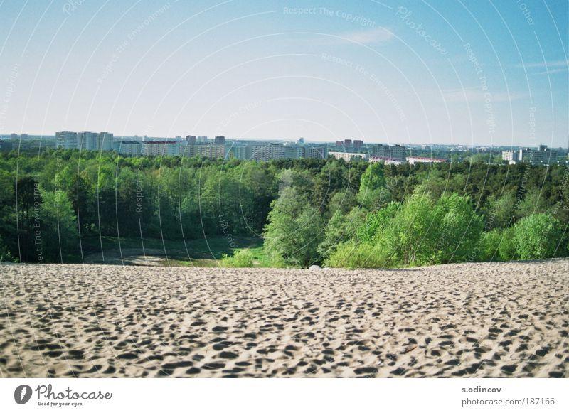 Sand, Park and blue Sky Nature City Park Sand Landscape Environment Skyline Cloudless sky