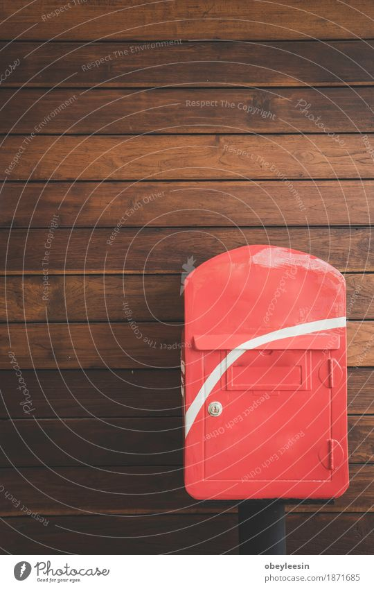 post box with the wood background Joy Lifestyle Style Art Happy Design Adventure Artist