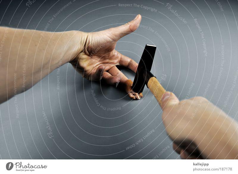 Human being Man Hand Nutrition Adults Arm Skin Fingers Creepy Pain Creativity Trashy Tool Meat Food Harm