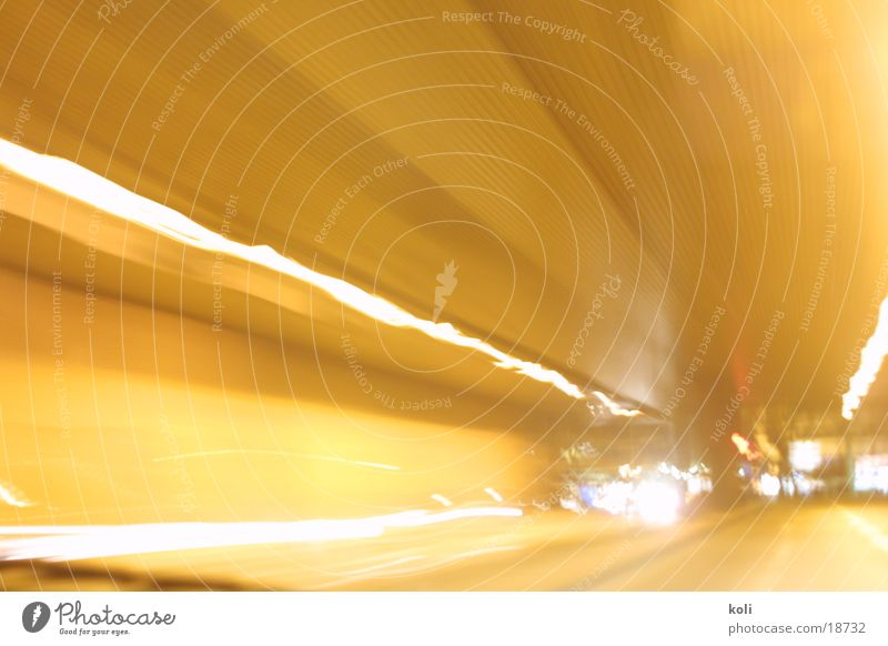 tunnel vision Tunnel Motoring Smear Speed Long exposure Light