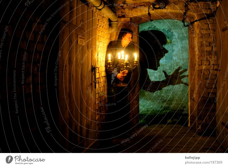 in the dungeon Leisure and hobbies Living or residing Flat (apartment) House (Residential Structure) Cellar Human being Life Face 1 Scream Aggression Dark