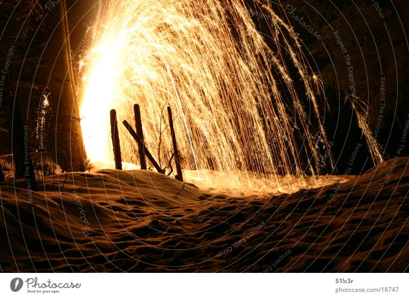 Colour Snow Bright Blaze Star (Symbol) Firecracker Volcano Spark Pyrotechnics