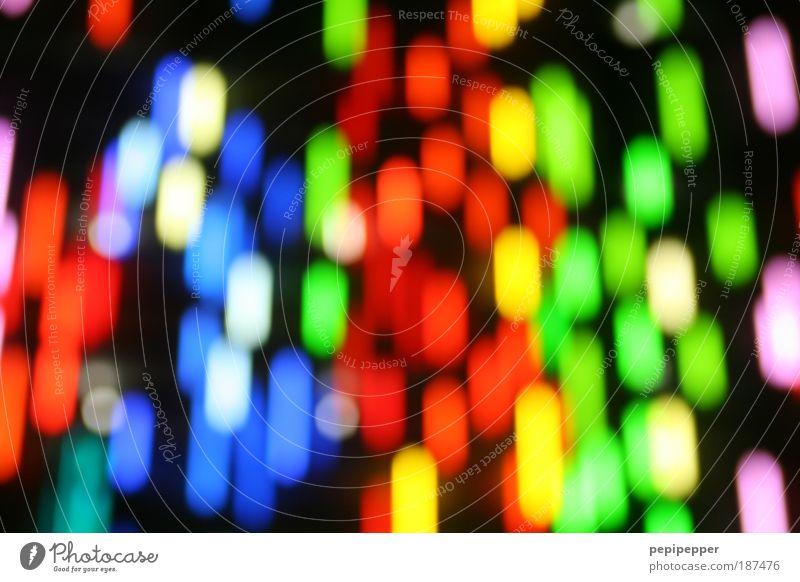 rain of light Technology High-tech Art Artist Work of art Facade Illuminate Exceptional Hip & trendy Beautiful Crazy Whimsical Neon light Colour photo