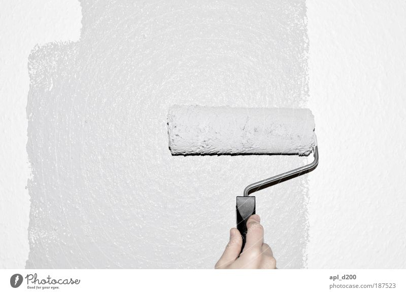 Human being White Hand Wall (building) Wall (barrier) Gray Masculine Contentment Authentic Esthetic Fingers Cool (slang) Painting (action, work)