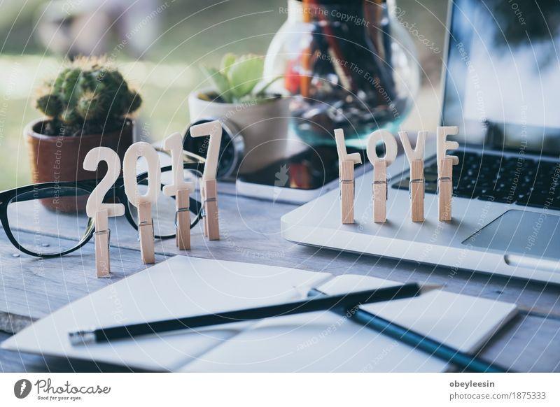 Office desk table with computer, supplies, success vintage Joy Lifestyle Style Art Happy Design Adventure Money Artist Save