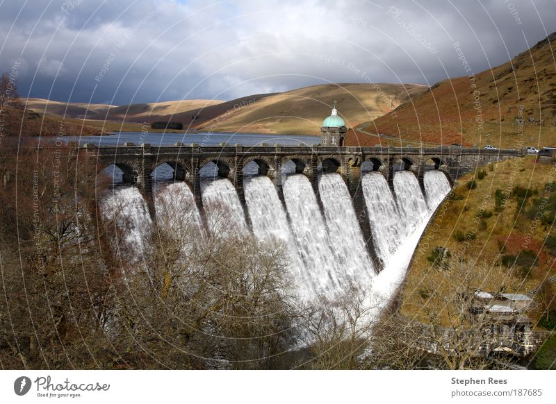Craig Goch reservoir Elan Valley, Wales. Water Vacation & Travel Landscape Architecture Hill Waterfall Reservoir Lake
