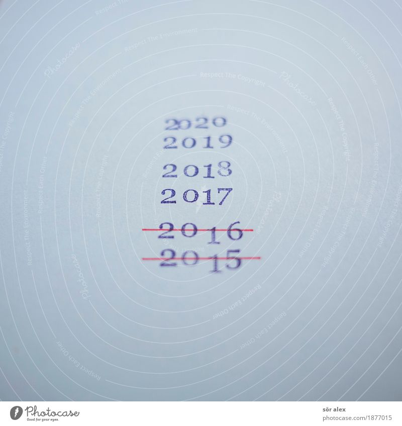 Over time. Feasts & Celebrations New Year's Eve Sign Digits and numbers Blue Senior citizen Innovative Optimism Perspective Planning Infinity Past Transience