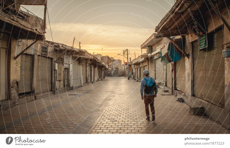 In the streets of Tehran Tourism Trip Adventure Far-off places Sightseeing City trip Expedition Summer Sky Beautiful weather Iran Village Town Capital city