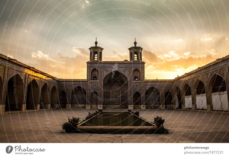 Sunset in Shiraz/ Iran Vacation & Travel Tourism Trip Adventure Far-off places Freedom Sightseeing City trip Expedition Clouds Isfahan Tehran Asia Persia