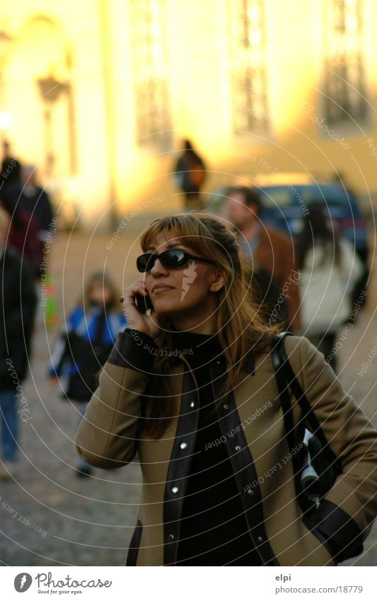 conversation Town Woman Street Human being