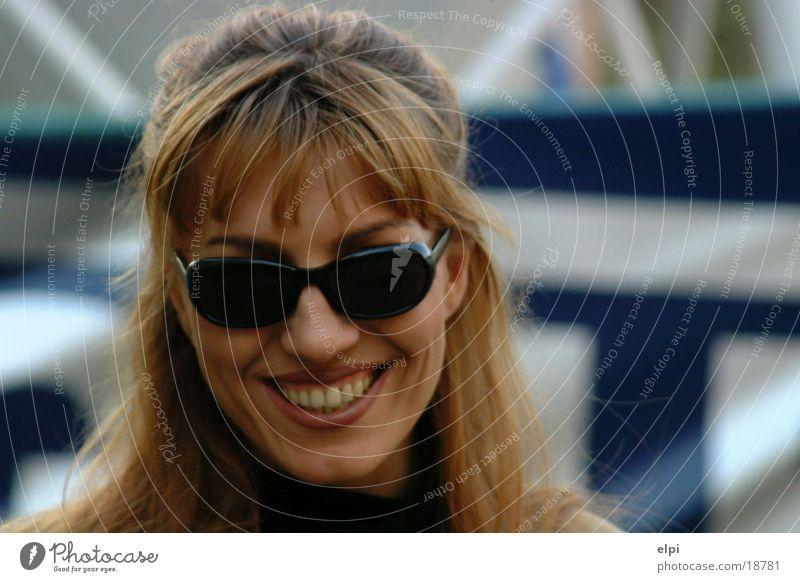 smile Woman Eyeglasses Face