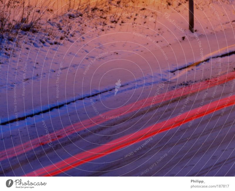 Red Joy Winter Snow Movement Freedom Car Ice Road traffic Elegant Transport Safety Driving Frost Threat