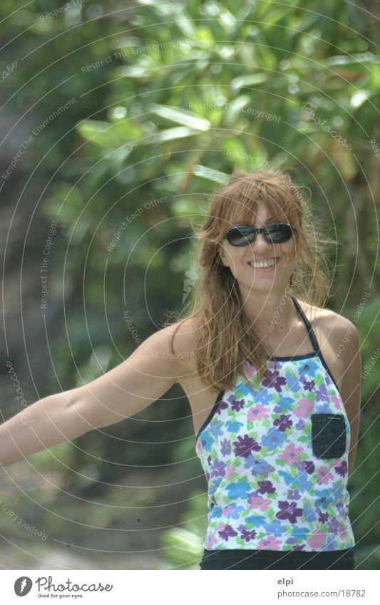 Woman Human being Sun Ocean Summer Joy Vacation & Travel Street Americas