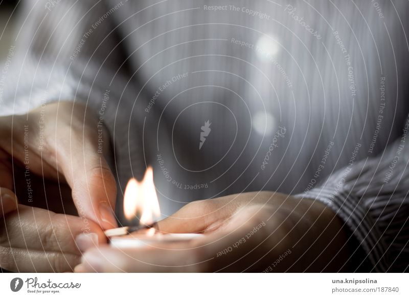 ignite Harmonious Well-being Senses Relaxation Calm Arm Hand Fingers 1 Human being 18 - 30 years Youth (Young adults) Adults Warmth Candle Candlelight Flame
