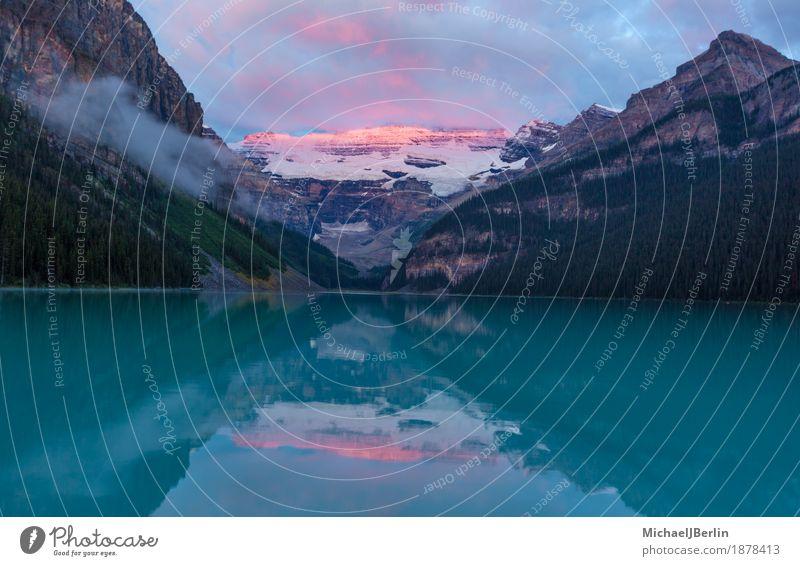 Nature Beautiful Water Landscape Natural Lake Lakeside Glacier Canada Ontario Glacier National park Banff National Park Lake Louise
