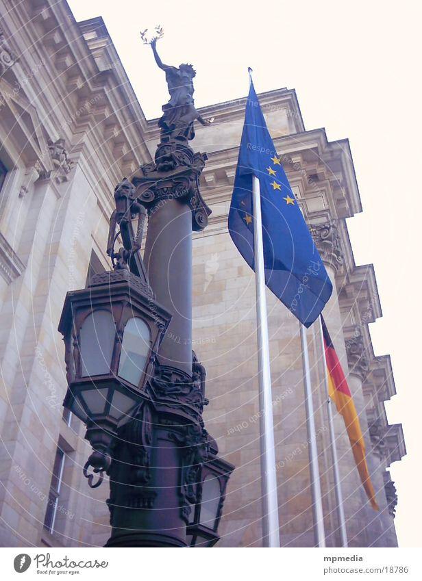 Berlin Europe Flag Reichstag
