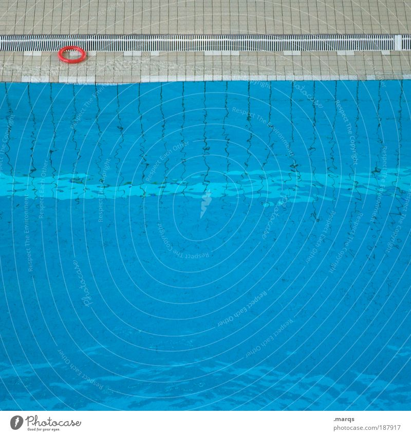 Blue Water Sports Style Orange Fear Leisure and hobbies Swimming & Bathing Wet Circle Swimming pool Wellness Illustration Fluid Deep