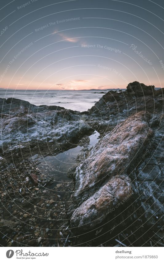 Sky Nature Vacation & Travel Blue Summer Landscape Ocean Calm Dark Environment Cold Autumn Spring Coast Gray Brown