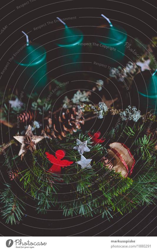 Christmas & Advent Decoration Retro Moss Ornament