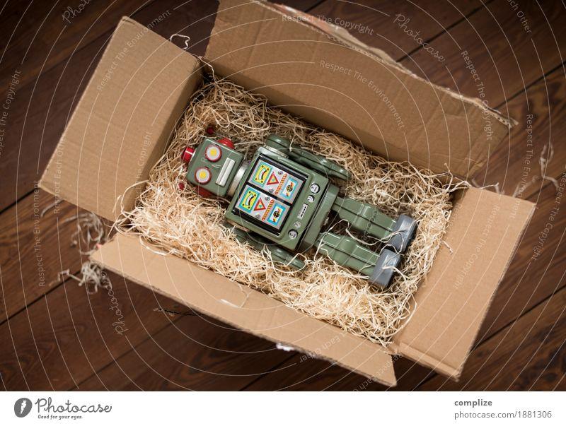 Sightseeing Trade Logistics Media industry Mail Technology Advancement Future High-tech Historic Dependability Robot Gift Helper Birthday Christmas & Advent