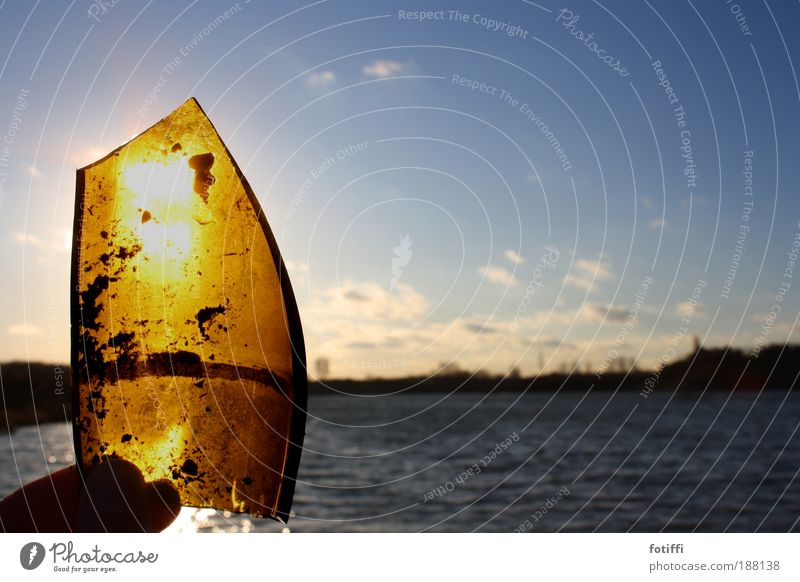 Blue Water Sun Winter Joy Clouds Happy Lake Watercraft Orange Waves Gold Glass Fingers Happiness Illuminate