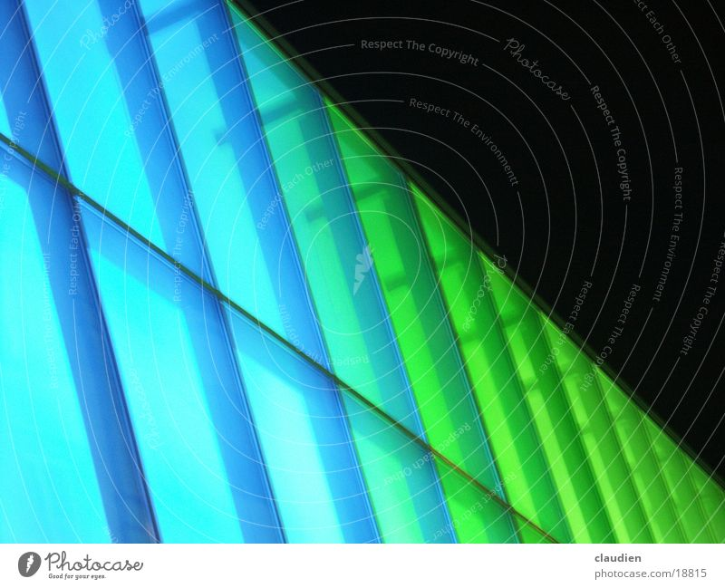Green Blue Architecture Shop window