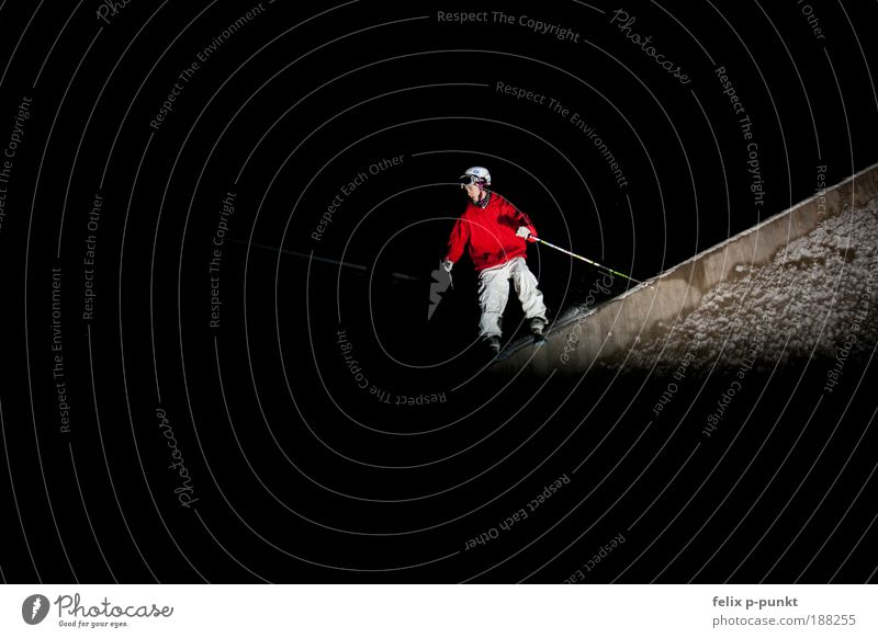 skiing in a different way I Lifestyle Sports Fitness Sports Training Track and Field Sportsperson Skiing Human being Masculine Young man Youth (Young adults)