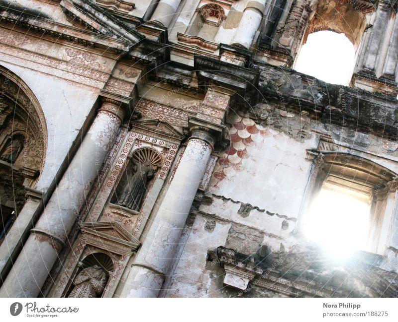 Old Sun Vacation & Travel Far-off places Architecture Building Elegant Facade Trip Tourism Esthetic Church Illuminate Manmade structures Belief