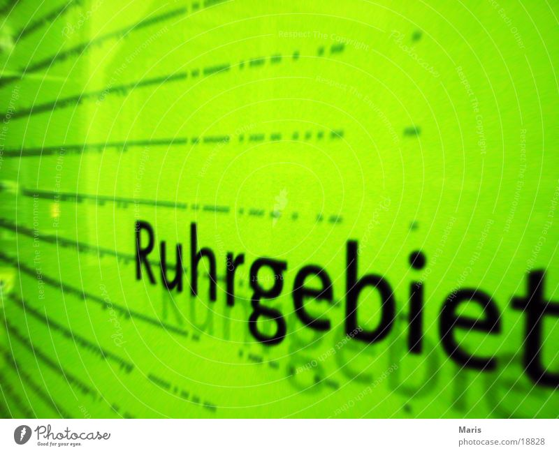 Signs and labeling Industry The Ruhr North Rhine-Westphalia