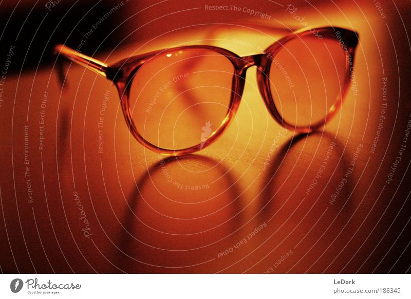 Beautiful Old Calm Black Yellow Style Brown Glass Gold Crazy Table Modern Esthetic Cool (slang) Retro Eyeglasses