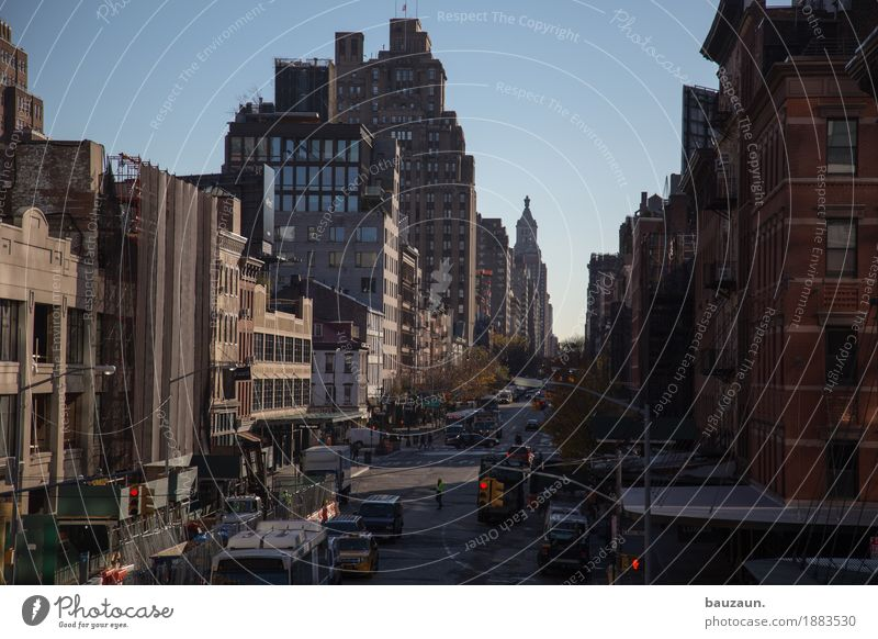 streets of nyc. Vacation & Travel Tourism Sightseeing City trip New York City USA Town House (Residential Structure) High-rise Wall (barrier) Wall (building)