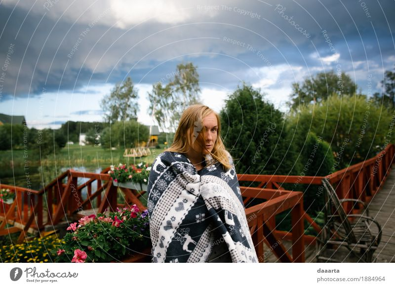 before storm Nature Vacation & Travel Summer Flower Landscape Clouds Joy Environment Life Lifestyle Feminine Style Playing Garden Freedom Feasts & Celebrations