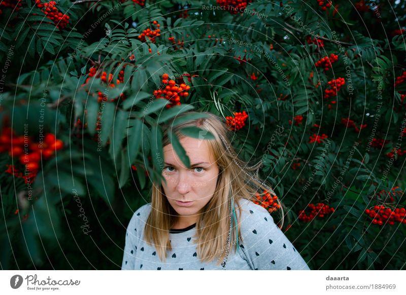 crazy face in rowan Lifestyle Design Joy Harmonious Leisure and hobbies Playing Tourism Trip Adventure Freedom Sightseeing Garden Decoration Feminine