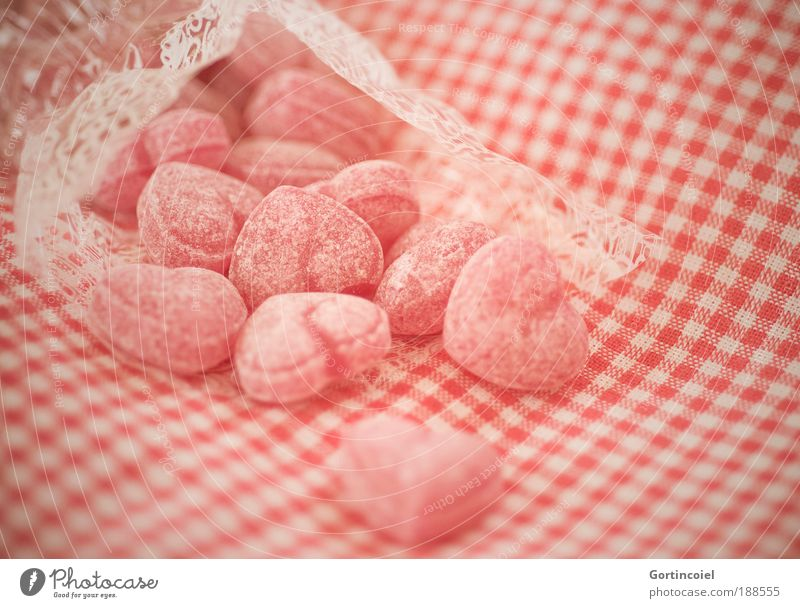 White Red Love Nutrition Emotions Food Heart Sweet Retro Delicious Candy To enjoy Relationship Sugar Paper bag