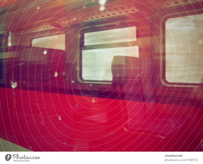 Red Vacation & Travel Winter Cold Snow Window Snowfall Weather Ice Wait Trip Railroad Frost Driving Train window