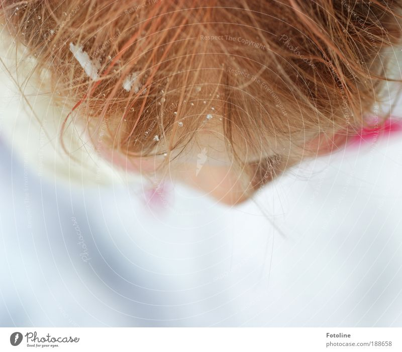 How beautiful winter can be! Human being Child Girl Head Hair and hairstyles Face Nose 1 Environment Nature Elements Water Drops of water Winter Climate