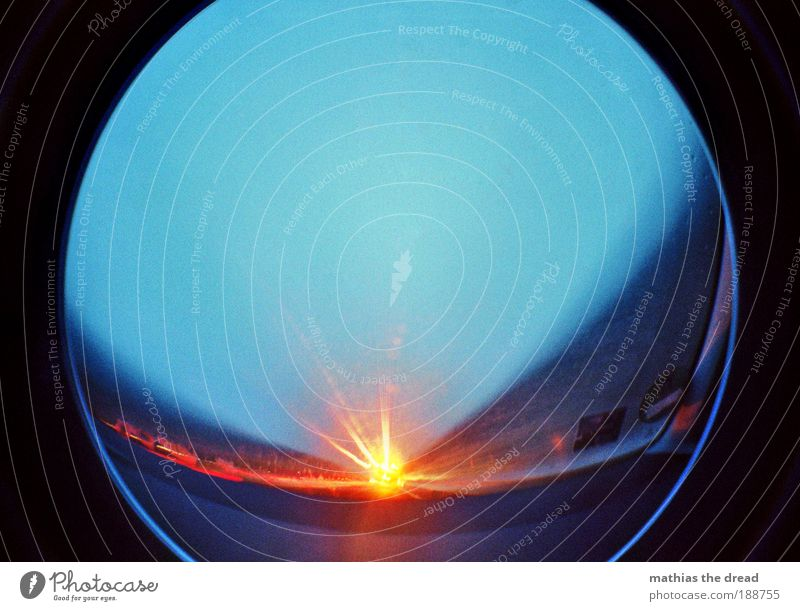 tunnel vision Sky Horizon Transport Means of transport Road traffic Motoring Highway Vehicle Driving Infinity Speed Windscreen Badge Dynamics Speed rush