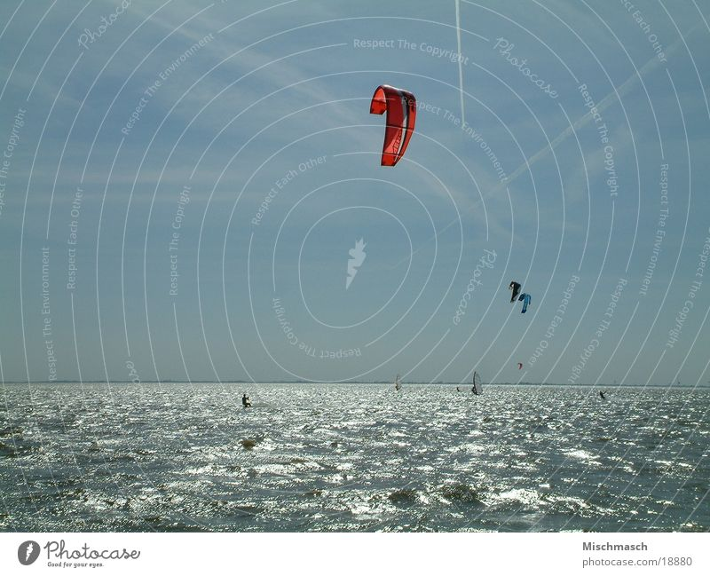 kitesurfing Kiting Sports Sun Water