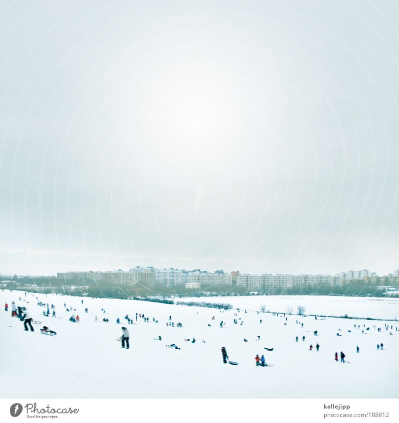Human being Nature Winter Joy Adults Life Snow Environment Playing Mountain Infancy Ice Leisure and hobbies Trip High-rise Climate