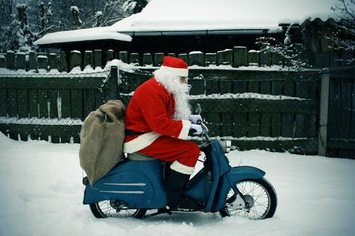 Now he's gone again... Handicraft Trip Winter Machinery Human being Masculine Man Adults 1 Street Boots White-haired Wig Beard Driving Old Famousness Blue