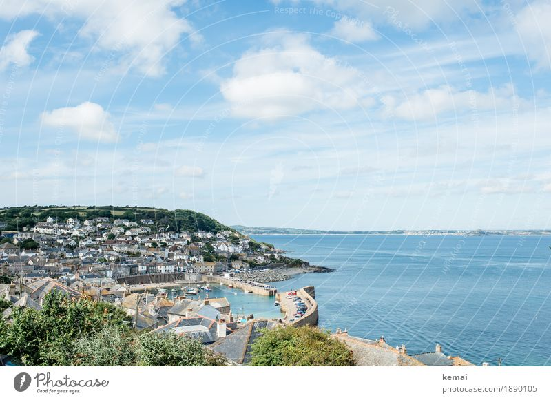 st. ives Calm Leisure and hobbies Vacation & Travel Tourism Trip Far-off places Freedom Sightseeing City trip Landscape Sunlight Summer Beautiful weather Coast