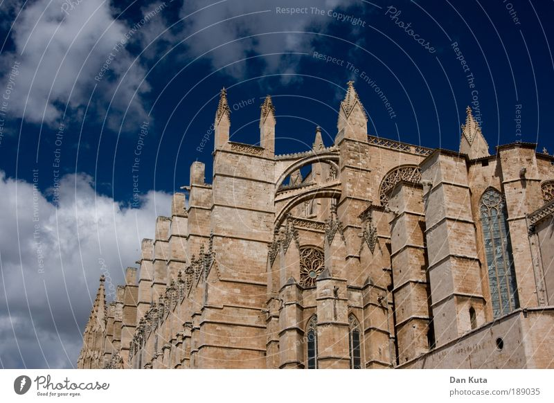 Catedral Collossal Catedral de Palma de Mallorca Palma de Majorca Spain Church Dome Manmade structures Building Architecture Tourist Attraction Landmark