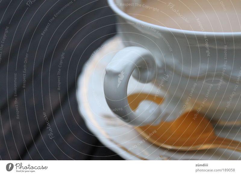 White Brown Gold Elegant Beverage Coffee Drinking Kitsch Crockery Luxury Cup To enjoy Nostalgia Spoon Coffee cup